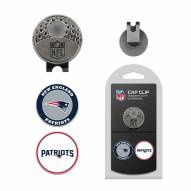 New England Patriots Hat Clip & Marker Set