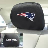 New England Patriots Headrest Covers