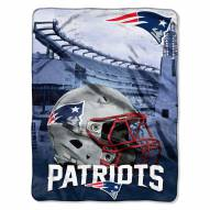 New England Patriots Heritage Silk Touch Blanket