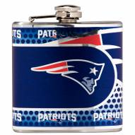 New England Patriots Hi-Def Stainless Steel Flask