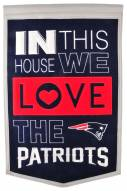 New England Patriots Home Banner