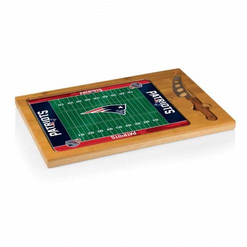 New England Patriots Icon Cutting Board