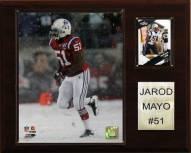 "New England Patriots Jerod Mayo 12 x 15"" Player Plaque"