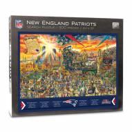 New England Patriots Joe Journeyman Puzzle