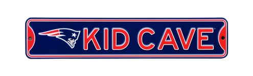 New England Patriots Kid Cave Street Sign