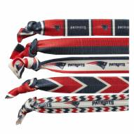 New England Patriots Knotted Hair Tie