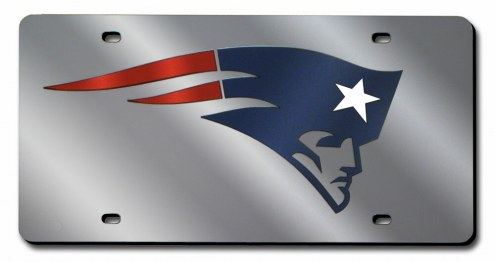 New England Patriots Laser Cut License Plate