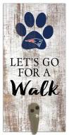 New England Patriots Leash Holder Sign