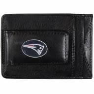 New England Patriots Leather Cash & Cardholder