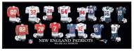 New England Patriots Legacy Uniform Plaque