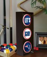 New England Patriots Let's Go Light