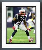 New England Patriots Malcolm Butler Action Framed Photo