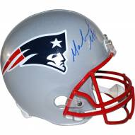 New England Patriots Malcolm Mitchell Signed Replica Full Size Helmet