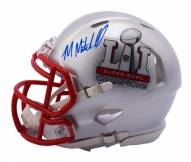New England Patriots Malcolm Mitchell Signed Super Bowl 51 Champions Mini Helmet