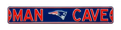 New England Patriots Man Cave Street Sign