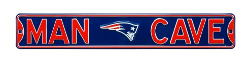 New England Patriots Man Cave Street Sign