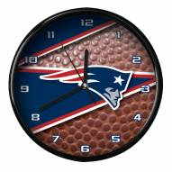 New England Patriots Football Clock