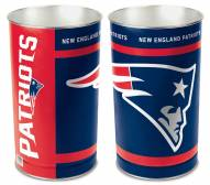 New England Patriots Metal Wastebasket