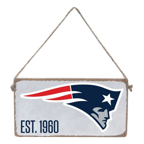 New England Patriots Mini Plank