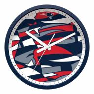New England Patriots Modern Wall Clock