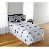 New England Patriots Monument Full Bed Sheets