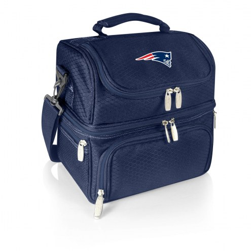 New England Patriots Navy Pranzo Insulated Lunch Box