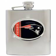 New England Patriots NFL 6 Oz. Stainless Steel Hip Flask