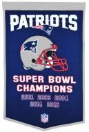 Winning Streak New England Patriots NFL Dynasty Banner