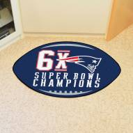 New England Patriots NFL Football Floor Mat