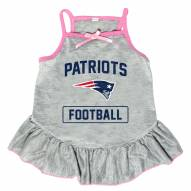 New England Patriots NFL Gray Dog Dress