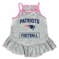 New England Patriots NFL Gray Dog Dress