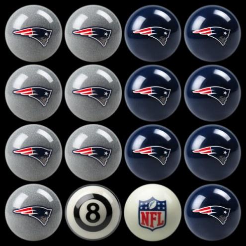New England Patriots NFL Home vs. Away Pool Ball Set