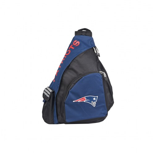 New England Patriots Leadoff Sling Backpack