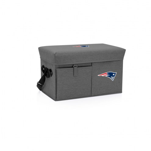 New England Patriots Ottoman Cooler & Seat