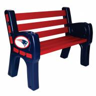 New England Patriots Park Bench
