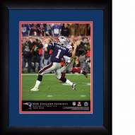 New England Patriots Personalized 13 x 16 NFL Action QB Framed Print