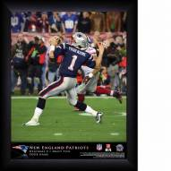 New England Patriots Personalized 11 x 14 NFL Action QB Framed Print