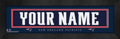 New England Patriots Personalized Stitched Jersey Print