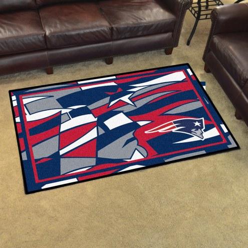 New England Patriots Quicksnap 4' x 6' Area Rug
