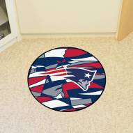 New England Patriots Quicksnap Rounded Mat