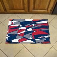 New England Patriots Quicksnap Scraper Door Mat