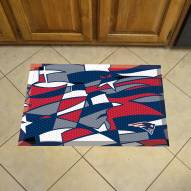 New England Patriots Quicksnap Scraper Door Mat