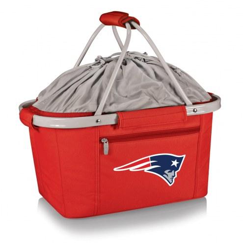 New England Patriots Red Metro Picnic Basket