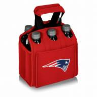 New England Patriots Red Six Pack Cooler Tote