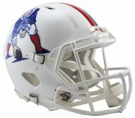 New England Patriots Riddell Speed Full Size Authentic White Football Helmet