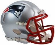 New England Patriots Riddell Speed Mini Collectible Football Helmet