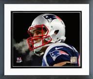 New England Patriots Rob Gronkowski Playoff Action Framed Photo