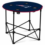 New England Patriots Round Folding Table