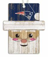 New England Patriots Santa Ornament