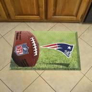 New England Patriots Scraper Door Mat